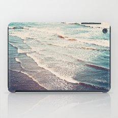 Ocean Waves Retro iPad Case