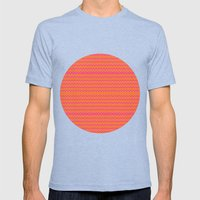 Cha-Cha Mens Fitted Tee Tri-Blue SMALL