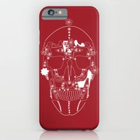iPhone & iPod Case featuring shoes make a skull by youfor