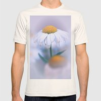 Softly Purple Mens Fitted Tee Natural SMALL