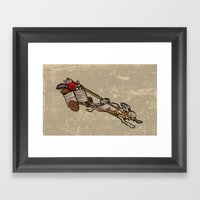 The Nut Express Framed Art Print
