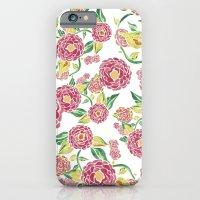 Camellia Japonica Floral… iPhone 6 Slim Case