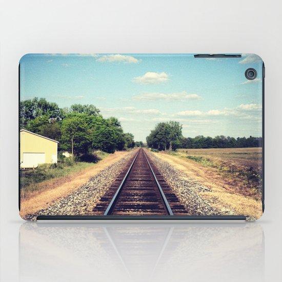 Railroad Tracks iPad Case