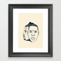 The Throne Framed Art Print