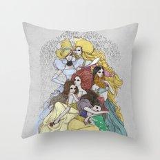 The Avant-Garde Throw Pillow