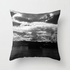 Atom Bomb Throw Pillow