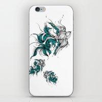 iPhone & iPod Skin featuring Birds by Lera Razvodova