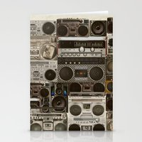 Wall Of Sound Stationery Cards