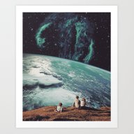 Art Print featuring Astronomical Limits II by TRASH RIOT