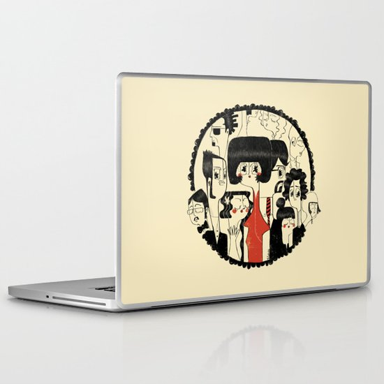 Crowd Laptop & iPad Skin