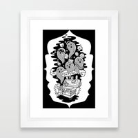 FORTUNA Framed Art Print