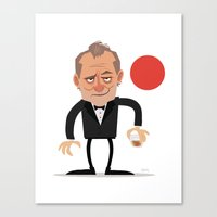 Suntory Time (Vector) Canvas Print