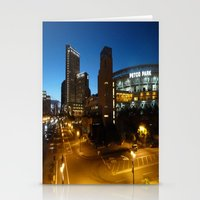 Petco Park At Night Stationery Cards