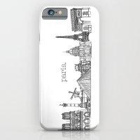 Paris Landmarks By The D… iPhone 6 Slim Case