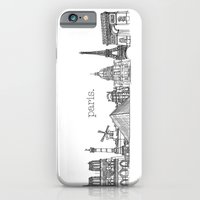 Paris Landmarks By The D… iPhone 6 Slim Case