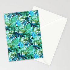 Palm Leaf Green Stationery Cards