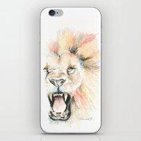 Savage Lion iPhone & iPod Skin
