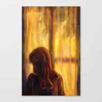 Under The Window Canvas Print