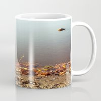 Autumn by the water Mug