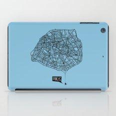 Spidermaps #1 Dark iPad Case