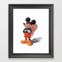 Mickey's Third Ear  Framed Art Print