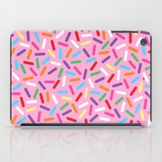 Pink Donut with Sprinkles iPad Case