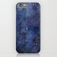 Night Sky Stars Galaxy   Watercolor iPhone 6 Slim Case