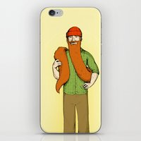 Mr. McBeardy iPhone & iPod Skin