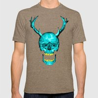 Frank Mens Fitted Tee Tri-Coffee SMALL