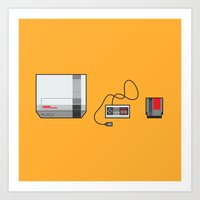 #38 Nintendo Entertainme… Art Print
