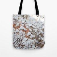 Bush in the Snow Tote Bag
