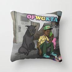Tyler, The Creator of Odd Future OFWGKTA Throw Pillow