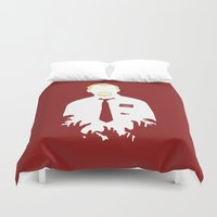 You've Got Red On You Duvet Cover
