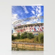 West Ham Olympic Stadium London Stationery Cards