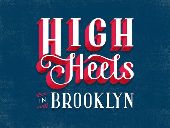 High Heels in Brooklyn Art Print
