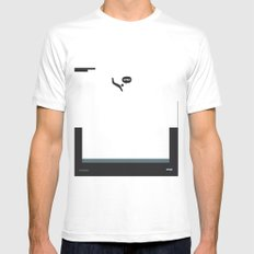 WTF? Pool SMALL Mens Fitted Tee White