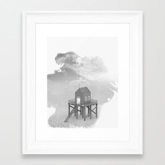 Church Pier Framed Art Print