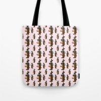 Chocolate Easter Bunnies… Tote Bag