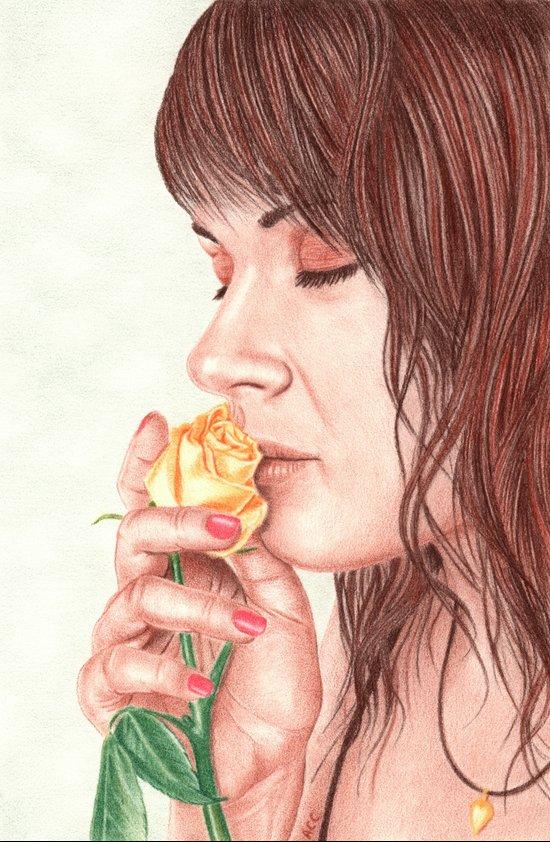 Sweet Perfume  Art Print