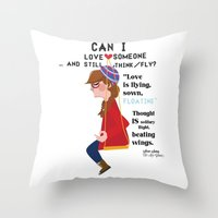 """Can I Love Someone...… Throw Pillow"