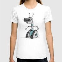 robot T-shirts featuring Robot by Sophie Corrigan