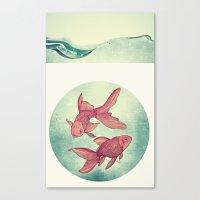 Goldfishes Canvas Print