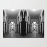 Corridors Of Confusion Canvas Print