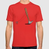 End Of Hammer Dictatorsh… Mens Fitted Tee Red SMALL