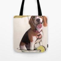 Tessi The Party Beagle Tote Bag