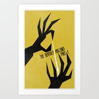 The Deathly Hallows Pt.1 (The Boy Who Lived 7 of 8) Art Print