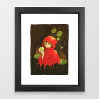Poison Apple & A Little … Framed Art Print