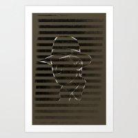 50's Guy Art Print