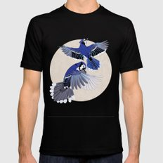 Blue Jays. SMALL Black Mens Fitted Tee