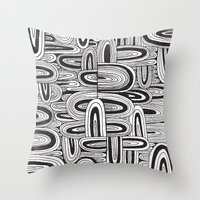 REPEATER Throw Pillow